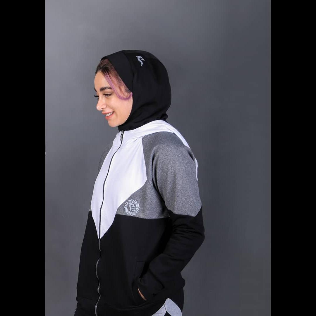 حجاب سر ورزشی/ مشکی